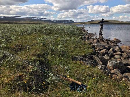 Under 2019 ägnade sig ungefär 1,6 miljoner personer åt fritidsfiske, jämfört 1,3 miljoner utövare 2018, en ökning med 23 procent. Foto: Gustav Enhol Blomqvist/HaV