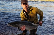 Jan Johansson with a salmon on 17.78 kg caught in Kalix,,sv,Janne Johansson with a salmon på17.78 kg caught in Kalix,,sv,Jan Johansson caught this salmon,,sv.