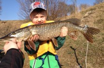 Nils Bolin soon 5 years with his PB Pike